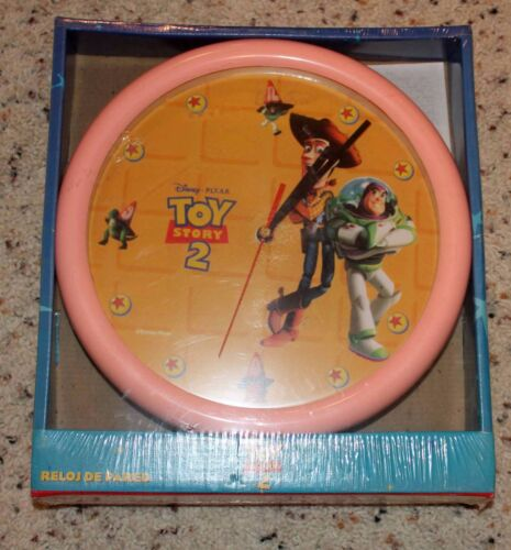 """Toy Story 9"""" Collector Clock with Buzz & Woody!"""