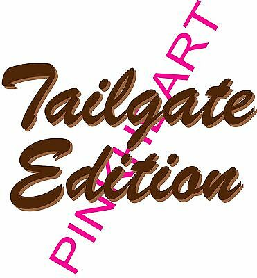 3 TAIL GATE EDITION Coachmen Decal RV sticker graphics trailer  tailgate decals