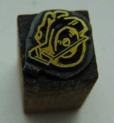 Printing Letterpress Printers Block Tiny Chop Saw