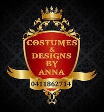 Costumes & Designs by Anna South Launceston Launceston Area Preview