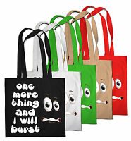 Borsa Shopping Ambientale Divertente Stampa Intenso Shopper Spiaggia A Spalla - ambien - ebay.it