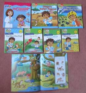 dora the explorer go diego picture books and phonics readers