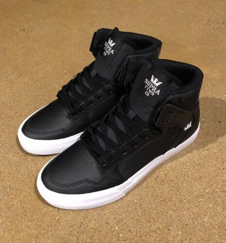 Boy's Supra 'Skytop' High Top Sneaker, Size 5 M - Black
