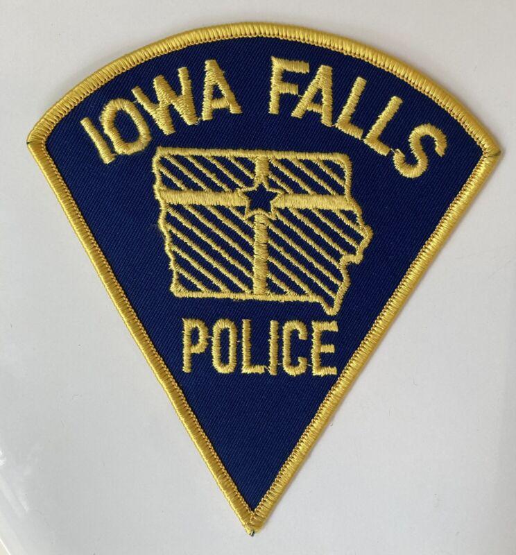 Vintage Iowa Falls IA Police Patch