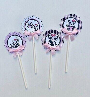 Panda/ panda theme/ panda cupcake toppers/ panda / baby shower/ birthday - Panda Baby Shower