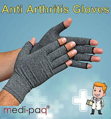 MEDIPAQ™ Anti Arthritis Gloves - Rheumatoid Hand Compression Ache Pain Therapy