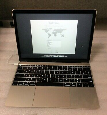"Apple MacBook Retina 12"" MK4M2LLA M-5Y71 Dual-Core 1.3GHz 8GB RAM 256GB SSD Gold"