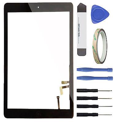 Apple iPad Air 1 iPad 5 Touchscreen Digitizer Glas Scheibe A1474 Werkeug Schwarz