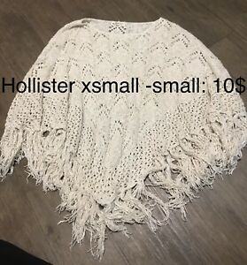 Poncho xsmall -small Hollister