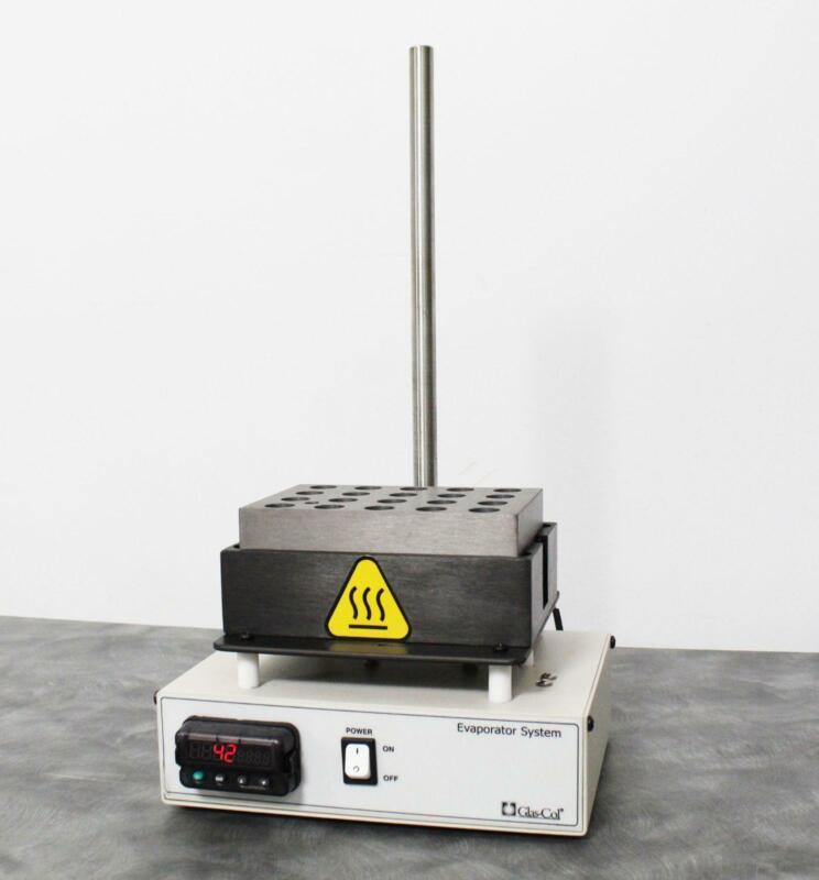 Glas-Col Zanntek ZipVap 20 Well Plate Analytical Evaporator 099A EV2012S