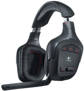 Logitech G930 Gaming Headset 7.1 Kabellos, neue Version, blaue Verpackung