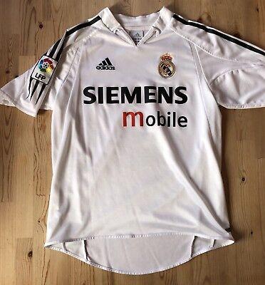 Real Madrid Original Adidas Größe 164 White Weiß No Name