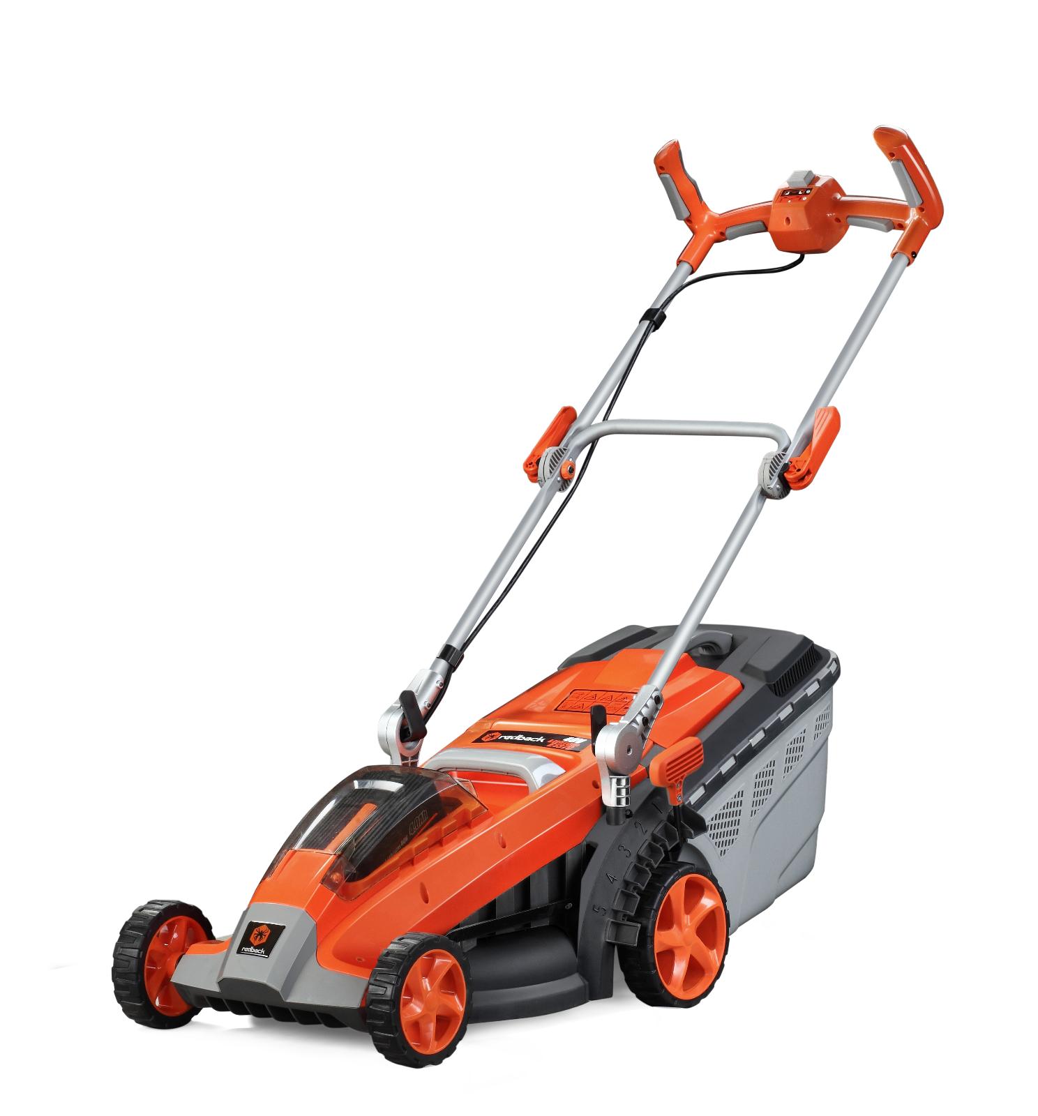 40 Volt Cordless Push Lawn Mower Kit - RedBack