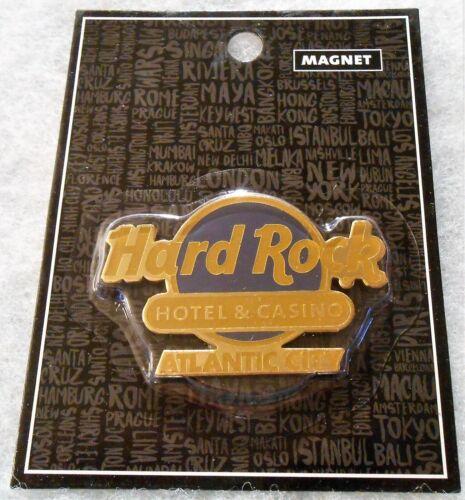 HARD ROCK HOTEL & CASINO ATLANTIC CITY CLASSIC LOGO MAGNET