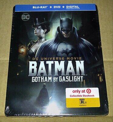New Batman Gotham By Gaslight Steelbook™ Blu-ray/DVD/Digital Target Exclusive