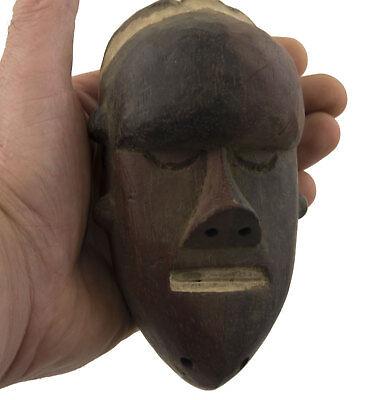 Mask Pasport African Salampasu of Fighter DRC Ex Zaire 16591