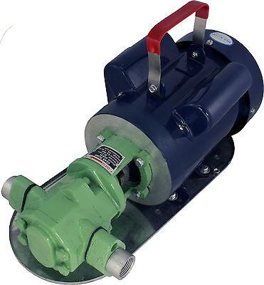 Power Wcb30 Mini-gear Oil Pump 8 Gpm 34 Wmo Wvo Biodiesel Motor Fuel Transfer