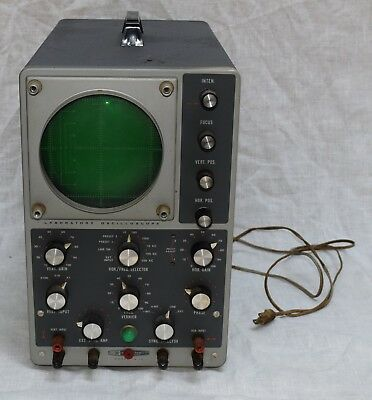 Heathkit Model 10-12 Laboratory Oscilloscope Vintage