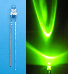 100Pcs-3mm-Green-LED-Lamps-Light-250mcd