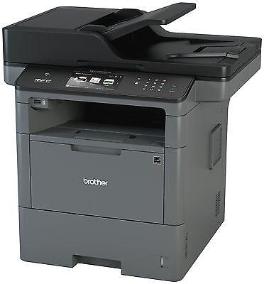 Brother Mfc-l6800dw Laser Multifunction Printer - Monochrome - Plain Paper Print Brother Color Laser Multifunction