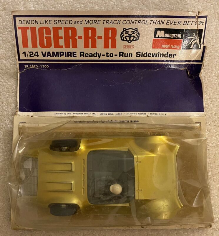 Monogram TIGER-R-R 1/24 Vampire Ready To Run Sidewinder