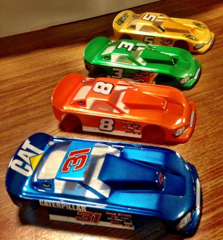 1/24 SLOT CAR BODY NASCAR OUTLAW HIGH DOWN FORCE # 4010 - CLEAR -WINDOW MASK