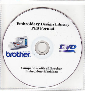 37,000+ PES Brother Machine Embroidery Designs