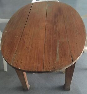 Antique rastik oval dining tible North Adelaide Adelaide City Preview