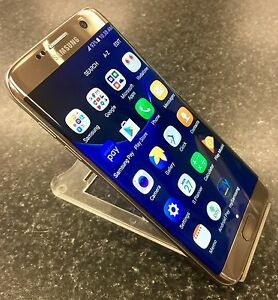 SAMSUNG S7 EDGE 32GB UNLOCKED GOLD Lawnton Pine Rivers Area Preview