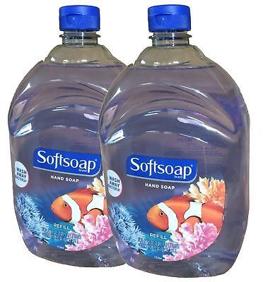 Softsoap Liquid Hand Soap, Aquarium Series, 64-Ounce Refill