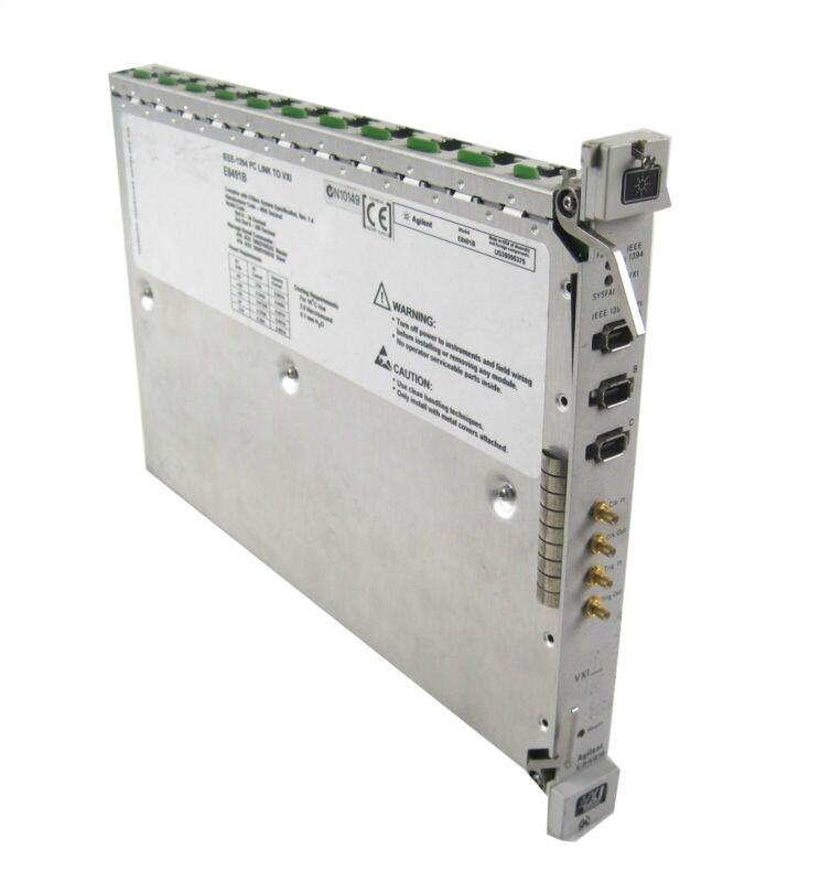 Agilent E8491B 75000 Series C IEEE-1394 PC Link To VXI Firewire Card Module