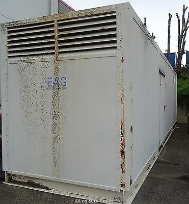 BHKW für Erdgas 30 ft. Container Blockheizkraftwerk 180 kW MWM Motor G234V12 EAG