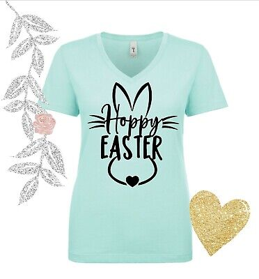 - Hoppy Easter shirt, Easter Tank top, Grandma Bunny Shirt, Mommy Bunny Shirts