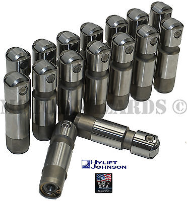 HYLIFT Hydraulic Roller Lifters/16 Chrysler Dodge 5.7 6.1 HEMI non-MDS US-Made