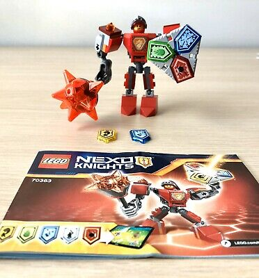 LEGO Nexo Knights Battle Suit Macy Set 70363. Used, Sold As Is In Photos.