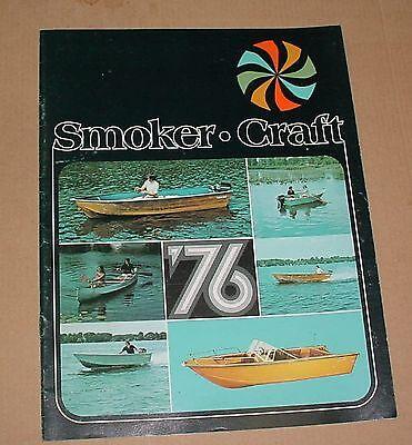 1976 Smoker Genius Boats Brochure