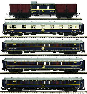 "MTH Orient Express Add-on 5-Car Passenger Set for 3 Rail ""O"" Gauge 20-60022"