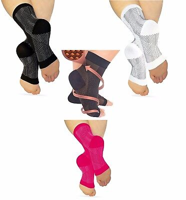Best PLANTAR FASCIITIS Compression Ankle Sleeve Heel Foot Pain Ache Relief (Best Plantar Fasciiti Sock)