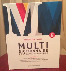 Multi dictionnaire de la langue française 6e édition