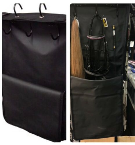 Large Horse/Pony/Equestrian Heavy Duty Bridle Halter Carry Bag In Black
