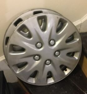 2 wheel covers 16 inches