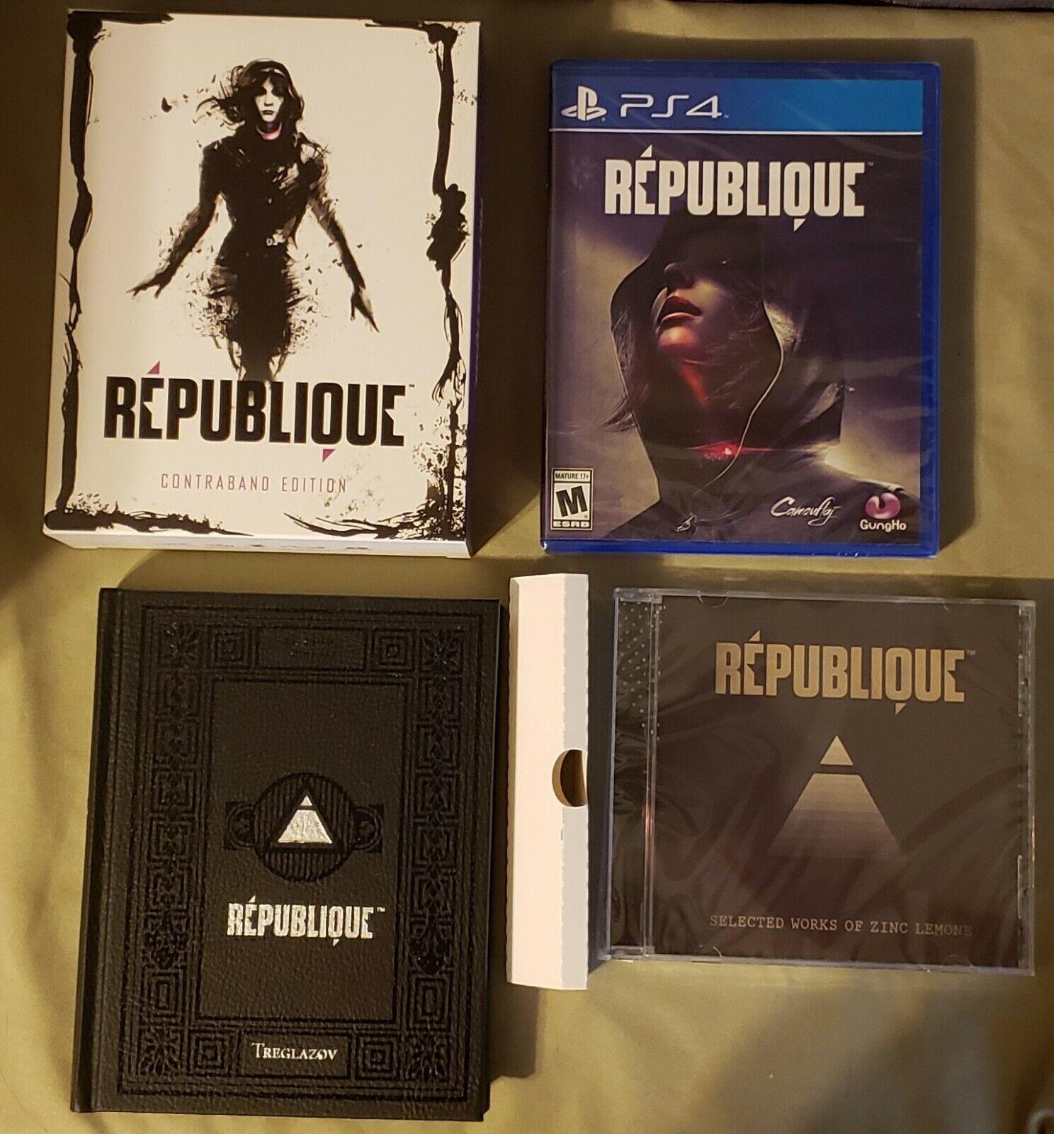 République Contraband Edition Sony PlayStation 4 PS4 Republique