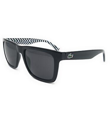 Lacoste Sunglasses L750S 001 Black Rectangle Men (Lacoste Men's Sunglasses)
