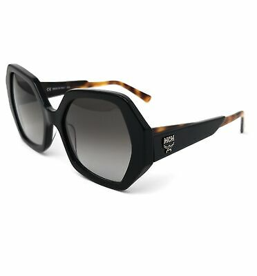 MCM Sunglasses MCM679S 001 Black Butterfly Women 55x19x140