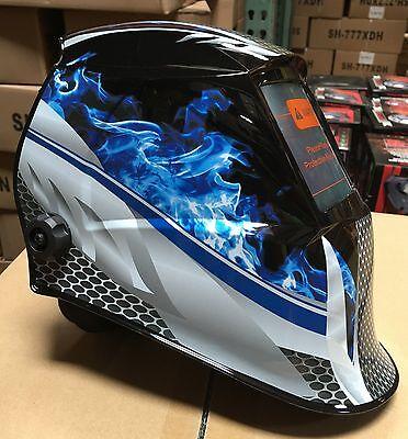 Fmt New Auto Darkening Weldinggrinding Helmet Mask Certified Hood
