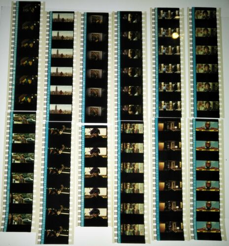 Kick-Ass Movie (2010) 60 x 35mm Genuine Film Cells 12 x Strips Reel Spool (C)