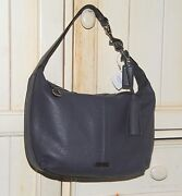Coach Blue Leather Handbag