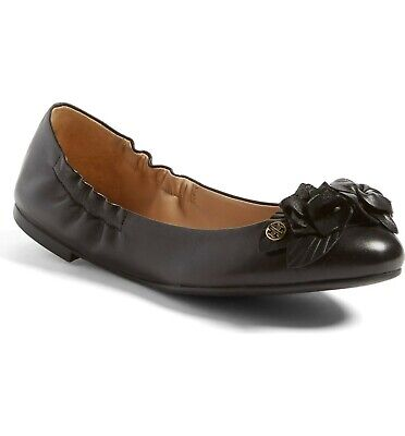 Tory Burch Blossom Ballet Flats MSRP $258 Size 7 # M2 79 NEW
