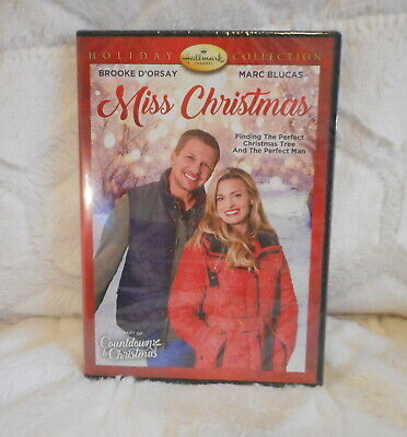 HALLMARK CHANNEL MISS CHRISTMAS HOLIDAY COLLECTION DVD NEW