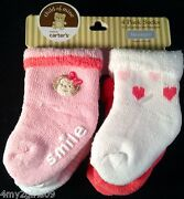 Carters Baby Girl Socks
